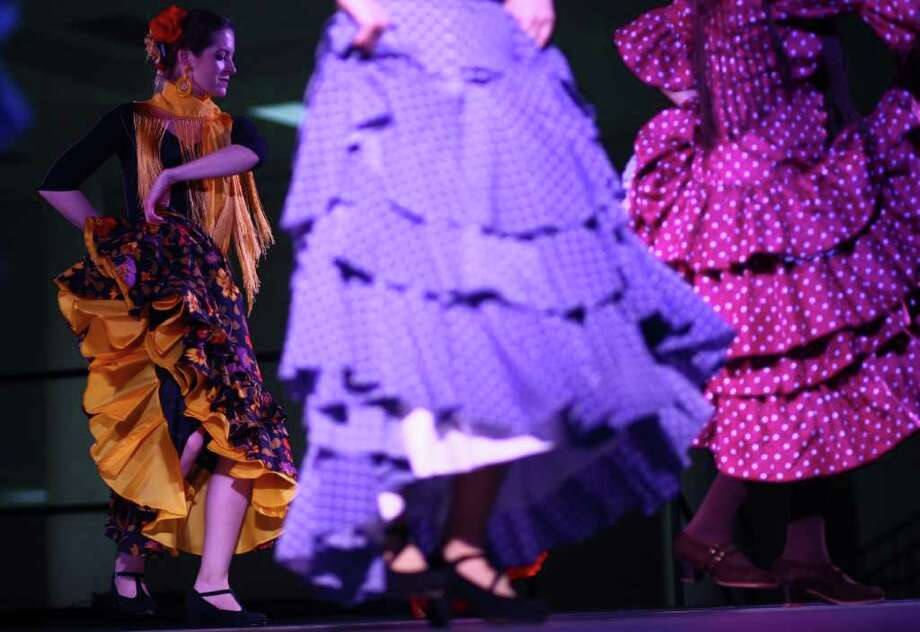 Dancers with La Peña Flamenca perform. Photo: JOSHUA TRUJILLO / SEATTLEPI.COM