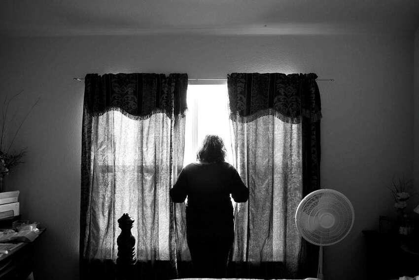 Illegal immigrant Benita Veliz. Photo by Paolo Pellegrin