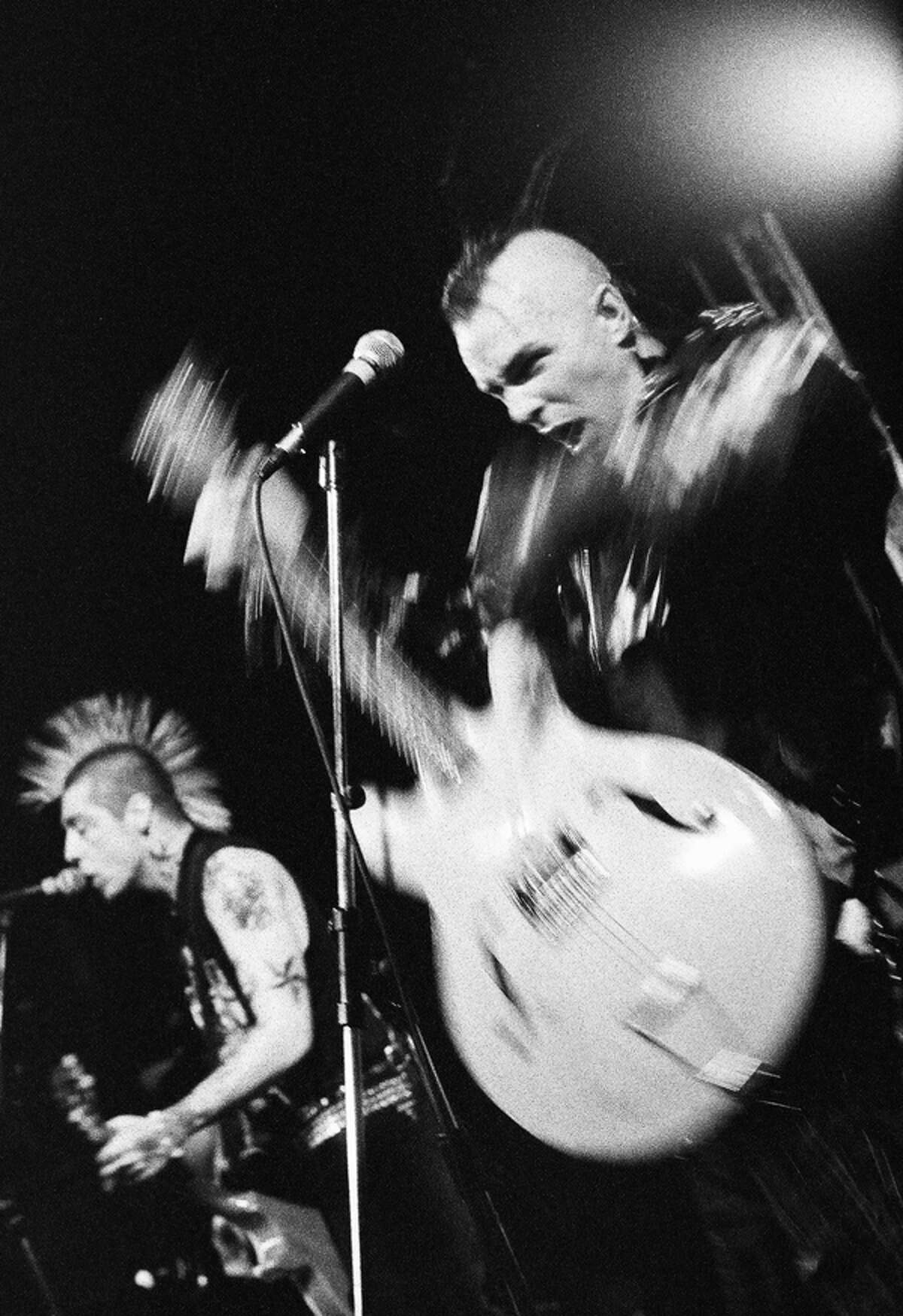 Joe Putrock's photograph of Rancid is part of ?Impasse + Motion: Ten Photographers? Journeys Through Instants in Music,? which opens Saturday, June 4, and runs through July 30 at Saratoga Arts, 320 Broadway in Saratoga Springs. (Courtesy the artist)
