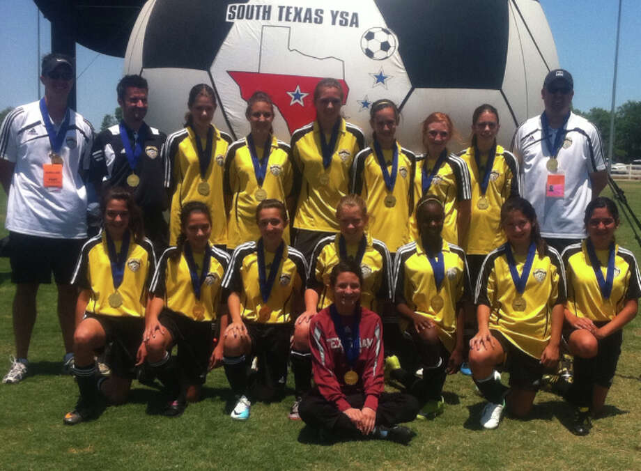 S.A. United 98 Girls Gold Photo: Courtesy Photo
