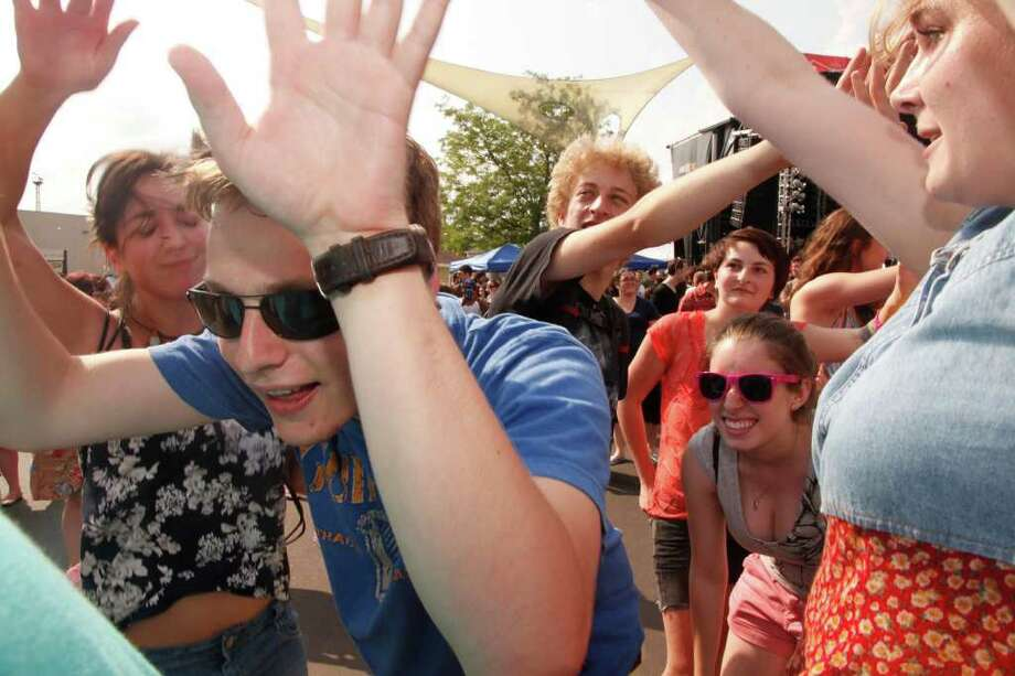 Seen Gallery Saturday at B.O.M.B. Fest Comcast Theatre Photo: Adriana Sanchez / Hearst Connecticut, Adriana Sanchez / Hearst Connect / Connecticut Post