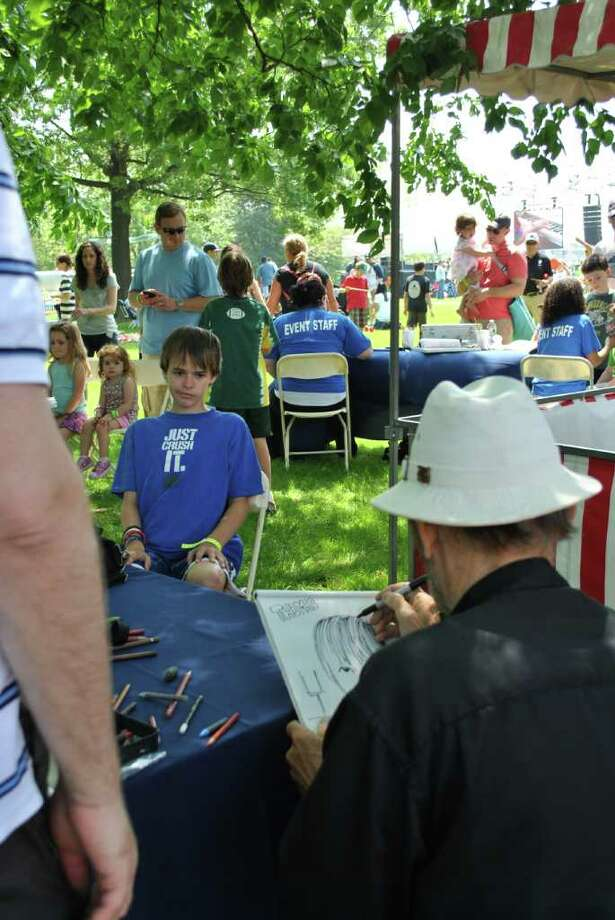 The Greenwich Town Party was on May 28, 2011 at Roger Sherman Baldwin Park in Greenwich. Photo: Lauren Stevens/Hearst Connecticut Media Group