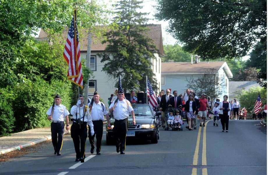 The Glenville Ninth District Veterans Association Memorial Day Parade on Sunday, May 29, 2011. Photo: Helen Neafsey / Greenwich Time