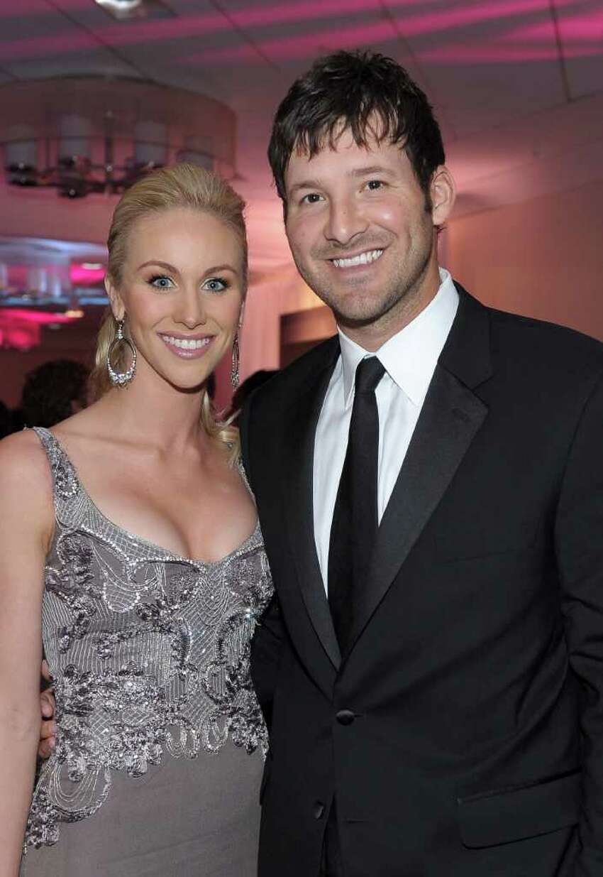 WASHINGTON, DC - APRIL 30: Candice Crawford and NFL player Tony Romo of the Dallas Cowboys attend the TIME/CNN/People/Fortune White House Correspondents' dinner cocktail party at the Washington Hilton on April 30, 2011 in Washington, DC. (Photo by Michael Loccisano/Getty Images for Time Warner) *** Local Caption *** Candice Crawford;Tony Romo;