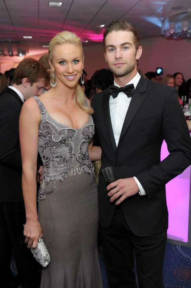 WASHINGTON, DC - APRIL 30:  Candice Crawford and actor Chace Crawford attend the TIME/CNN/People/Fortune White House Correspondents' dinner cocktail party at the Washington Hilton on April 30, 2011 in Washington, DC.  (Photo by Michael Loccisano/Getty Images for Time Warner) *** Local Caption *** Candice Crawford;Chace Crawford; Photo: Getty Images For Time Warner
