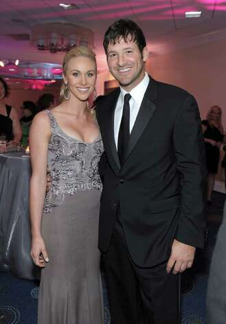 WASHINGTON, DC - APRIL 30: Candice Crawford and NFL player Tony Romo of the Dallas Cowboys attend the TIME/CNN/People/Fortune White House Correspondents' dinner cocktail party at the Washington Hilton on April 30, 2011 in Washington, DC.  (Photo by Michael Loccisano/Getty Images for TIME) *** Local Caption *** Candice Crawford;Tony Romo; Photo: Getty Images For Time Warner