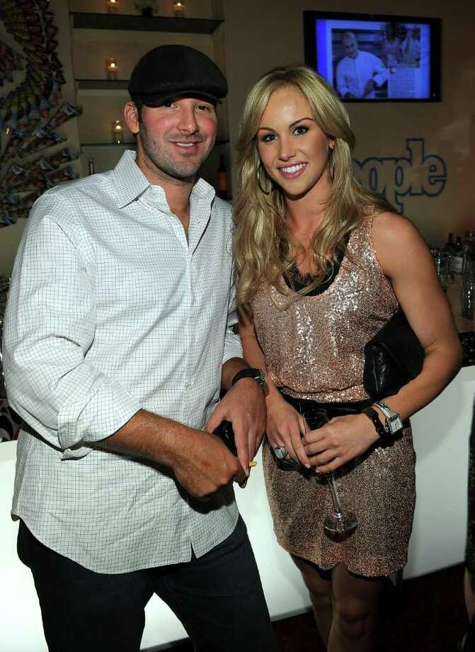 WASHINGTON - APRIL 30:  NFL player Tony Romo and journalist Candice Crawford attend the PEOPLE/TIME party on the eve of the White House Correspondents' Dinner at the St Regis Hotel - Astor Terrace on April 30, 2010 in Washington, DC.  (Photo by Larry Busacca/Getty Images for Time Inc) *** Local Caption *** Tony Romo;Candice Crawford Photo: Larry Busacca, Getty Images For Time Inc / 2010 Getty Images