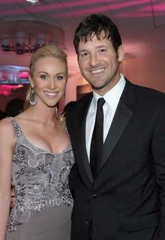 WASHINGTON, DC - APRIL 30:  Candice Crawford and NFL player Tony Romo of the Dallas Cowboys attend the TIME/CNN/People/Fortune White House Correspondents' dinner cocktail party at the Washington Hilton on April 30, 2011 in Washington, DC. Photo: Getty Images