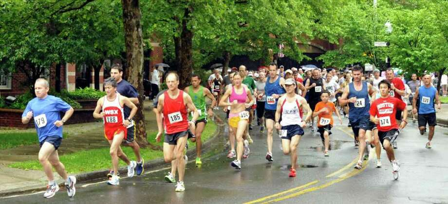 Monday: The third Danbury Memorial Day 5K road race takes place at 8:45 a.m. Visit  hikeracing.com for more info. Photo: Michael Duffy / The News-Times