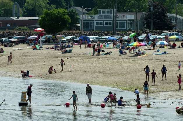Stamford: West Beach 2011Percent of weekly samples that exceed state standards: 8Number of closures or advisory day: 10 Photo: Keelin Daly / Stamford Advocate