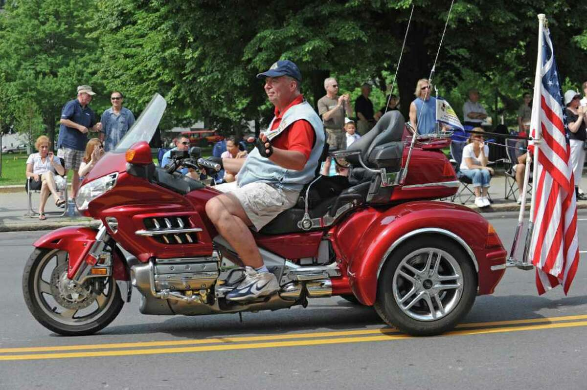 People participate in the Albany Memorial Day Parade in Albany, N.Y. Monday May 30, 2011. (Lori Van Buren / Times Union)