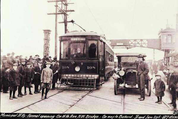 Seattle History: The Ballard Bridge - SFChronicle com