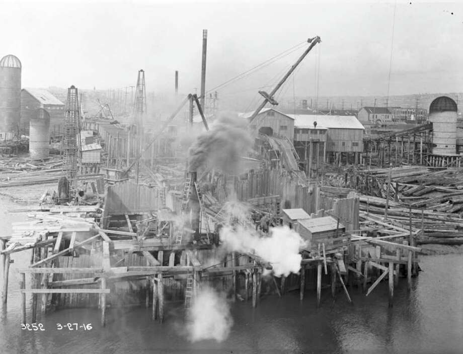 May 1916. Photo: Seattle Municipal Archives