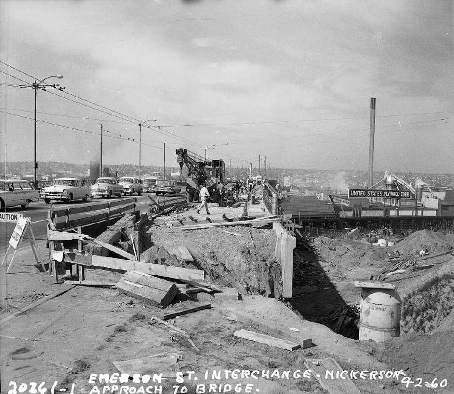 Sept. 2, 1960. Photo: Seattle Municipal Archives