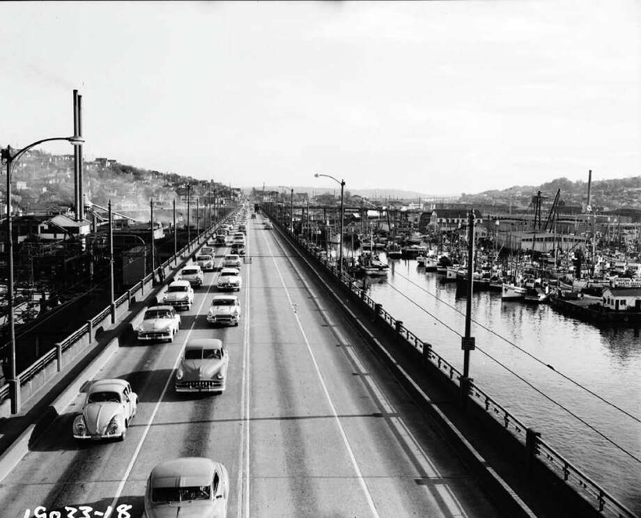 April 18, 1957. Photo: Seattle Municipal Archives