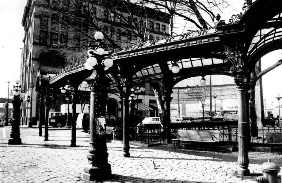 Pioneer Square, April 16, 1980. Photo: Seattlepi.com File / seattlepi.com