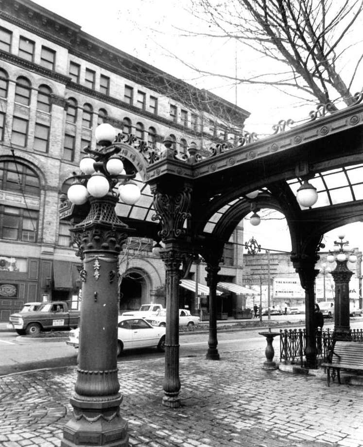 Pioneer Square, Feb. 23, 1978. Photo: Seattlepi.com File / seattlepi.com