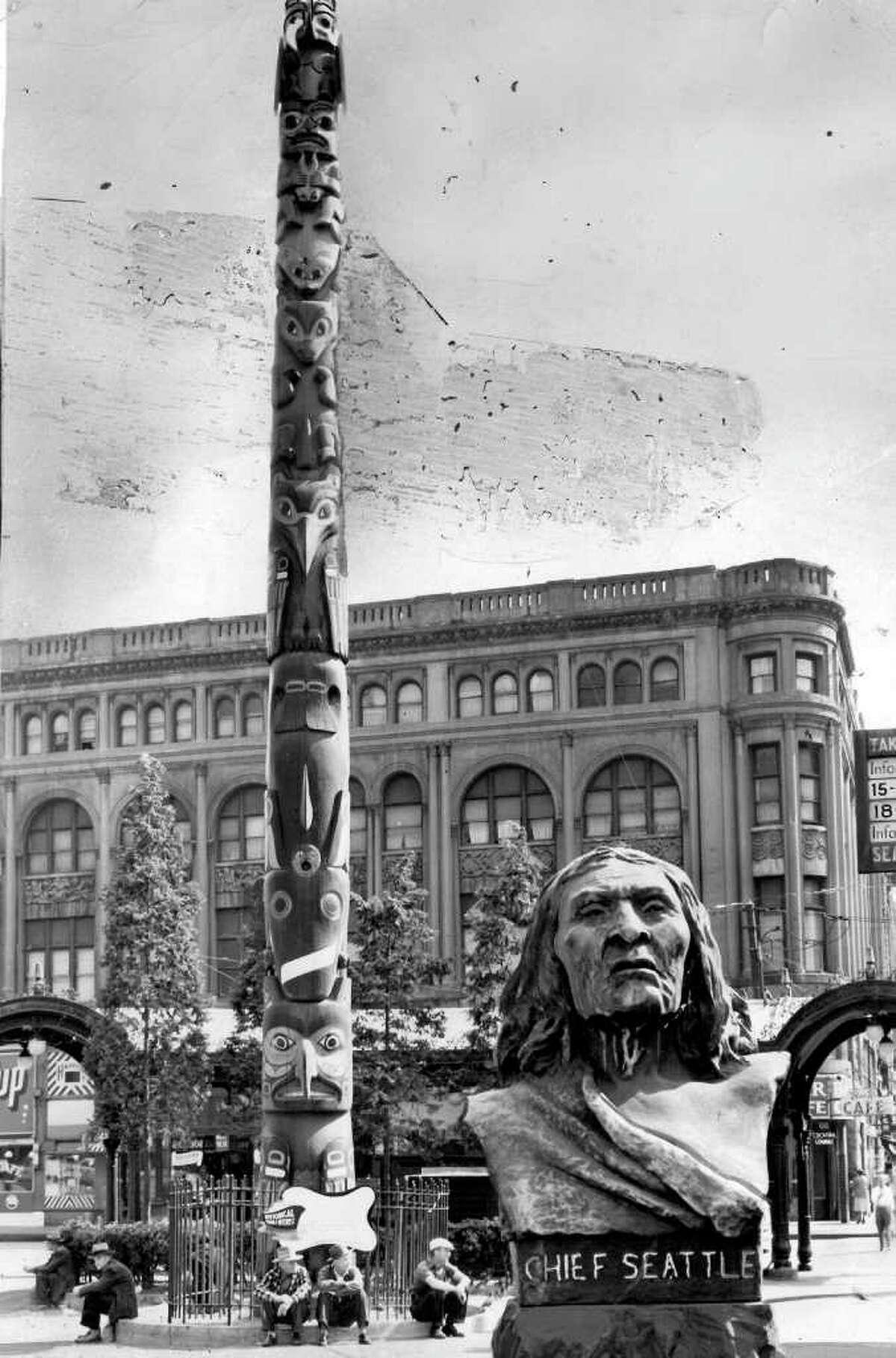 Pioneer Square, Sept. 9, 1952.