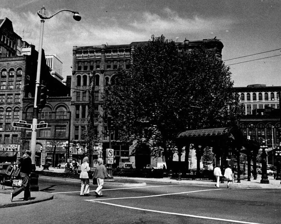 An undated photo of Pioneer Square. Photo: Seattlepi.com File / seattlepi.com