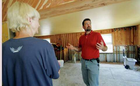 Residents return to flood-damaged homes in Miss  - Times Union