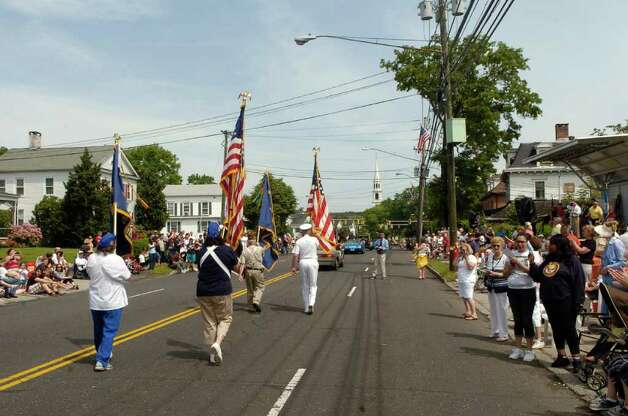 The Memorial Day Parade on East Ave in Norwalk, Conn. Monday May 30, 2011 on East Ave Photo: Dru Nadler / Stamford Advocate Freelance