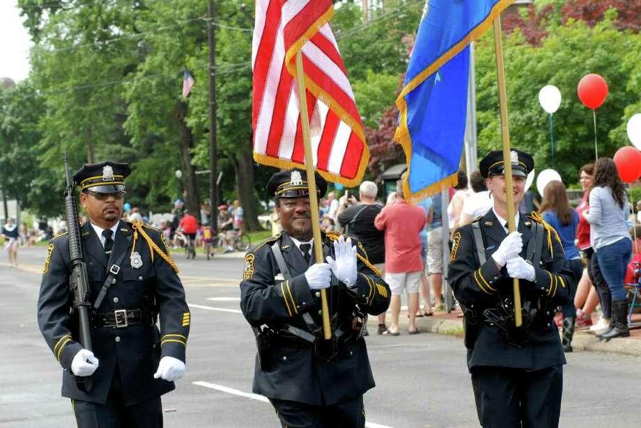 Norwalk, Conn. Memorial Day Parade on Monday May 30, 2011. Photo: Dru Nadler / Stamford Advocate Freelance