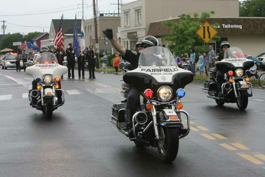 Fairfield holds its  Memorial Day Parade on Monday, May 30, 2011. Photo: B.K. Angeletti / Connecticut Post