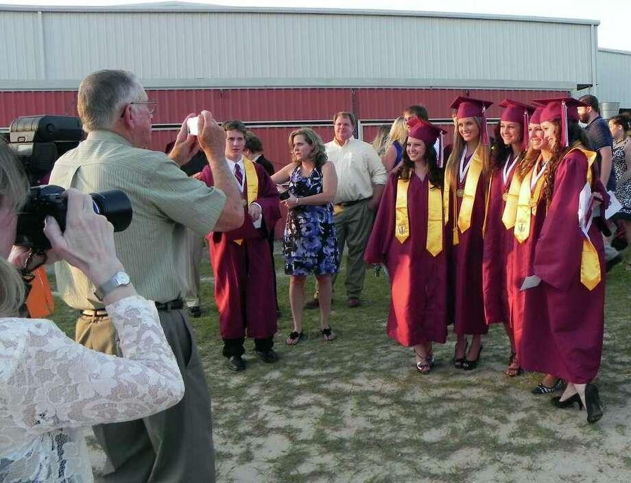 Jasper Class of 2011 graduation ceremonies Photo: Charles Kerr
