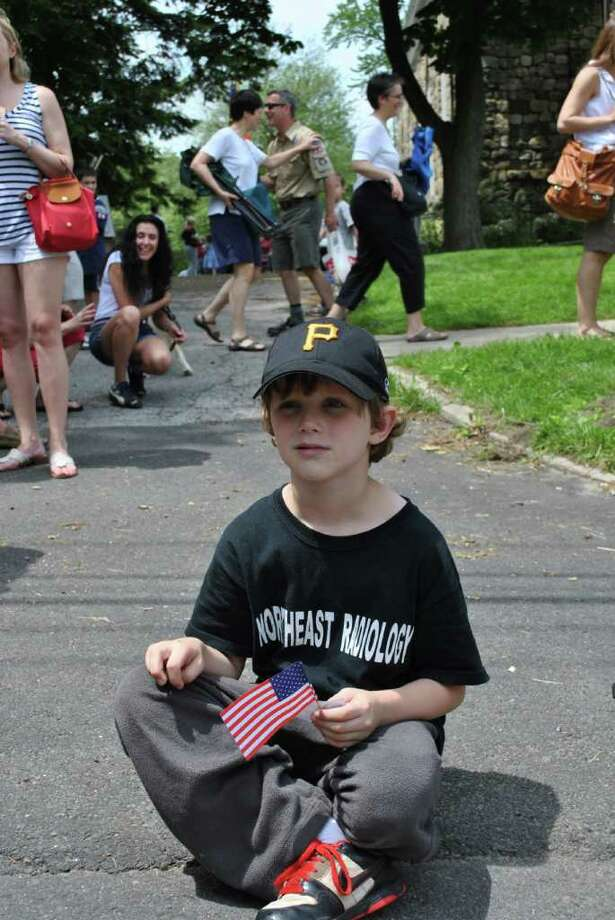 Ridgefield had their Memorial Day parade on May 30, 2011. Photo: Lauren Stevens/Hearst Connecticut Media Group