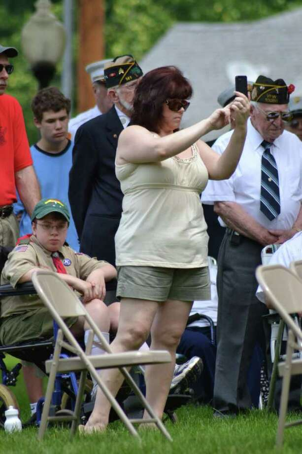 Trumbull Memorial Day Parade in Trumbull, CT, 5/30/2011 Photo: Sean Meenaghan / Hearst Connecticut Media Group