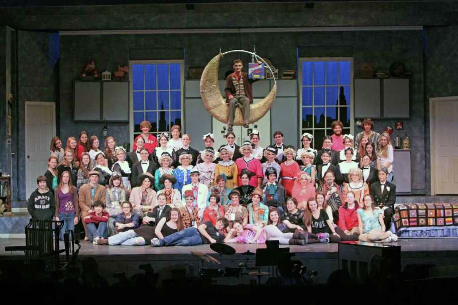 """The cast of """"The Drowsy Chaperone"""" has been nominated for Connecticut High School Musical Theater Awards. Photo: Contributed Photo / New Canaan News"""