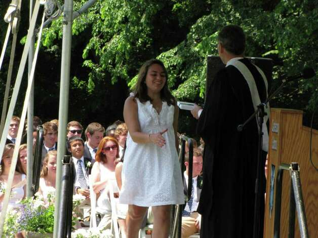 Were you seen at the Canterbury School graduation in New Milford, CT on Tuesday, May 31, 2011? Photo: Vincent Rodriguez / The News-Times