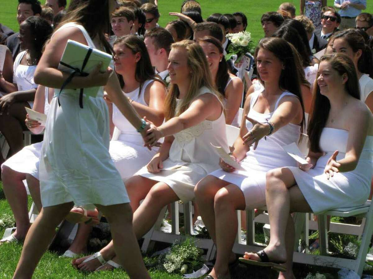 Were you seen at the Canterbury School graduation in New Milford, CT on Tuesday, May 31, 2011?
