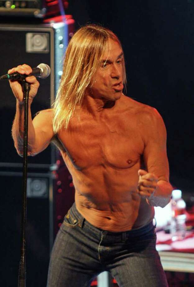 """Roadkill Rising"" includes footage from more than 30 years of Iggy Pop performance. (AP Photo/Jack Plunkett) Photo: JACK PLUNKETT / AP"