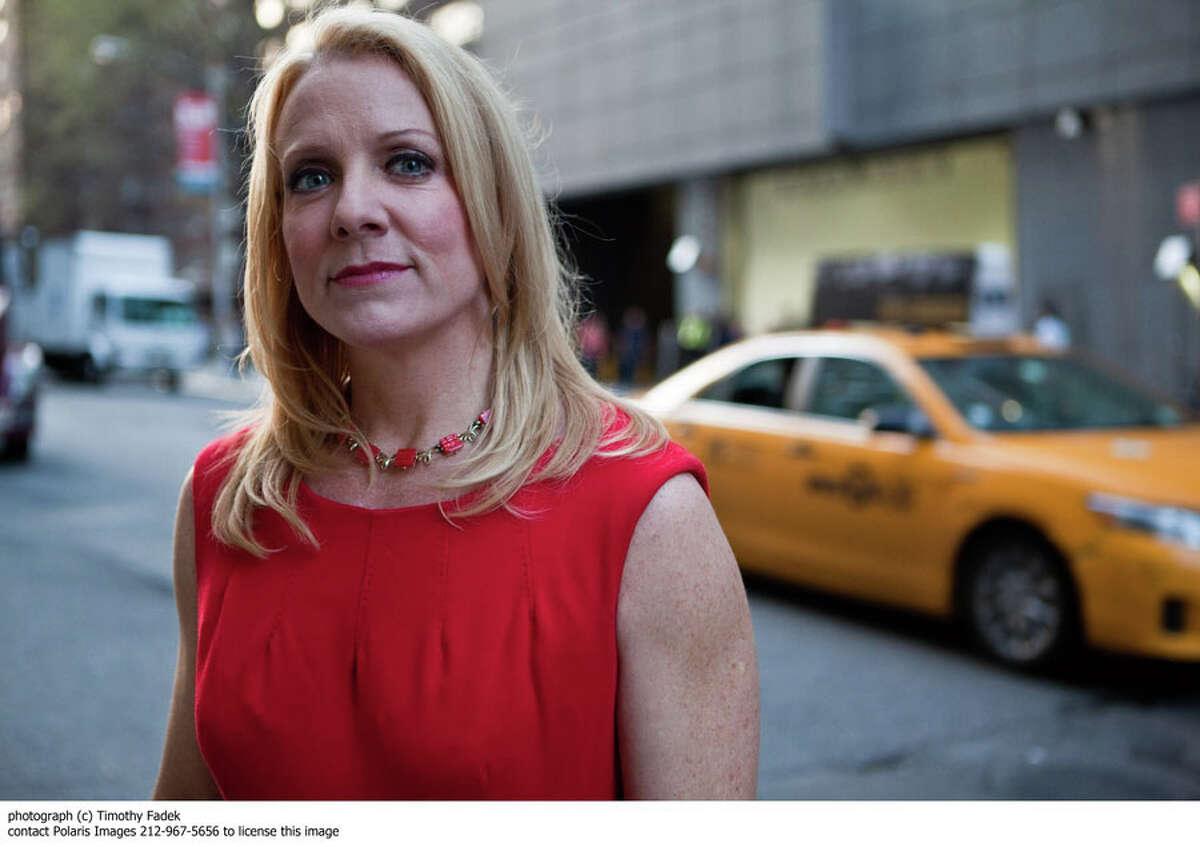 Dr. Kathleen Casey Jordan, Professor at Western Connecticut State University, at the CNN studios in New York. Dr. Casey Jordan is an expert on serial killers.