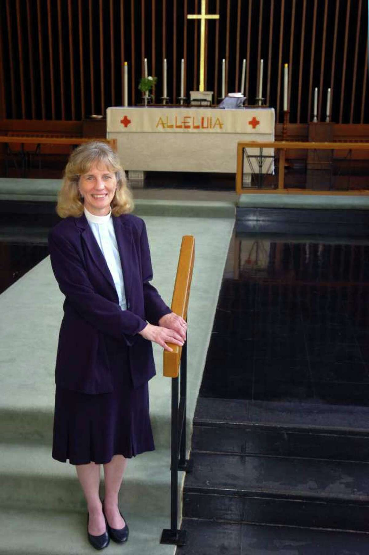 Marjo Anderson is the new pastor at Salem Lutheran Church in Bridgeport, Conn. May 31st, 2011.