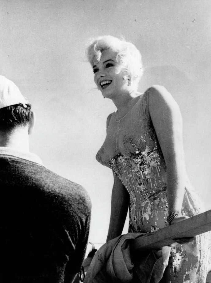Monroe in between shots on the set of 'Some Like It Hot' in 1959. Photo: L. J. Willinger, Getty Images / Hulton Archive