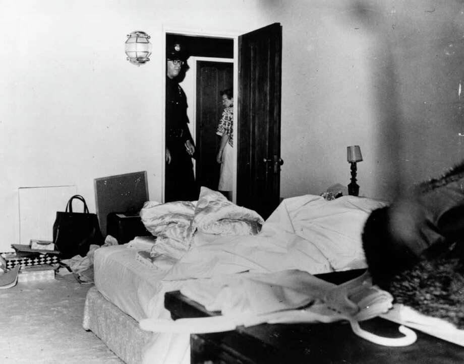 The room where Monroe died, pictured on August 9, 1962 Photo: E. Murray, Getty Images / Hulton Archive