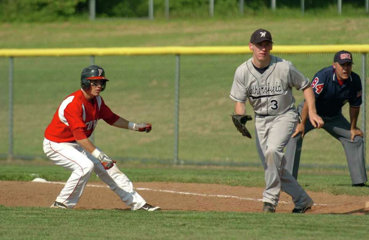 Highlights from CIAC boys Class L state baseball between Foran and Wethersfield in Milford, Conn. on Tuesday May 31, 2011.