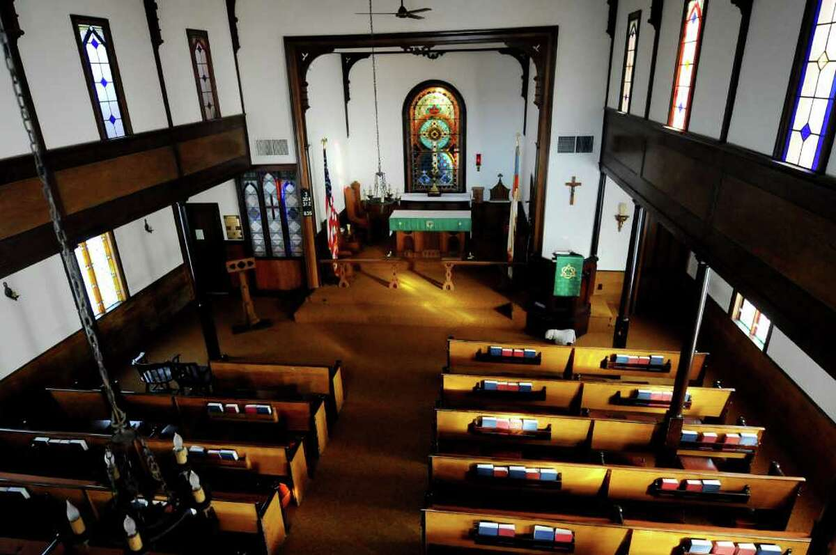 Trinity Episcopal Church in Rensselaerville, N.Y., is celebrating its 200th anniversary. (Cindy Schultz / Times Union archive)