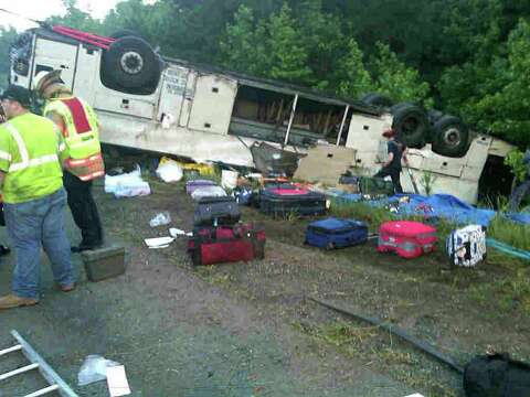 Fatigue cited after deadly bus crash - Times Union