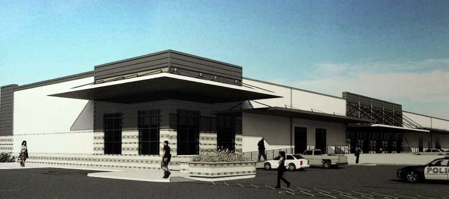 This is a rendering of the new Adult Detention Center South Campus Annex that will be built from the old Toudouze warehouse at 222 S. Comal. Photo: JOHN DAVENPORT, Courtesy Illustration / SAN ANTONIO EXPRESS-NEWS (Photo can be sold to the public)