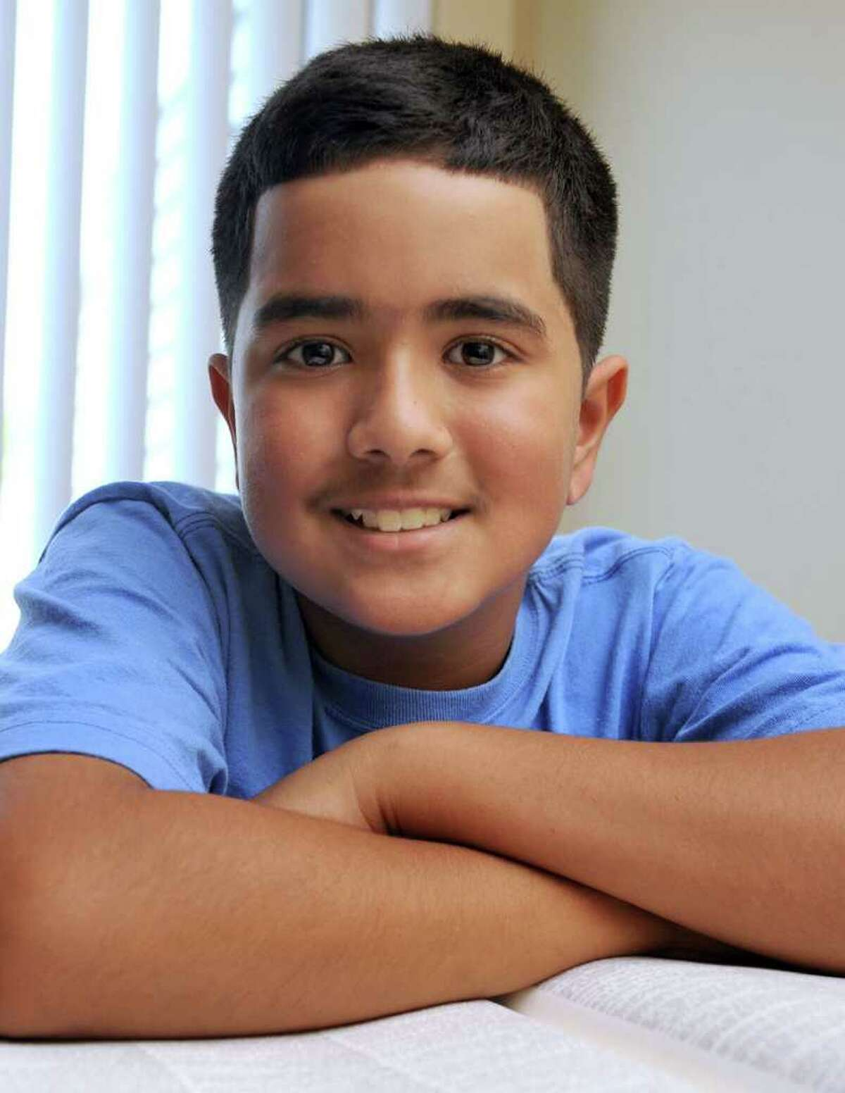 Rahul R. Malayappan, 11, of Danbury, is a Broadview Middle School student, and spelling champion.