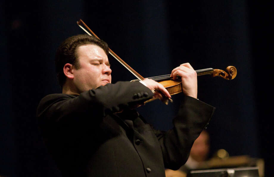 Violinist Vadim Gluzman will play a priceless 1690 Stradivari with the San Antonio Symphony Friday and Saturday. COURTESY SAN ANTONIO SYMPHONY