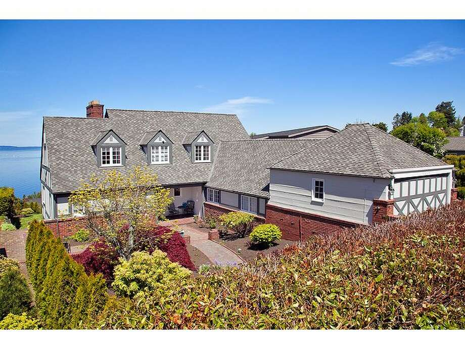 Here's a unique, old home at 10005 Vinton Court N.W., in Seattle's Blue Ridge neighborhood. The 4,350-square-foot house includes five bedrooms and 3.75 baths, was built in 1939 and sits on an 8,040-square-foot lot overlooking Puget Sound. It's listed for $1.375 million. (Listing: http://www.windermere.com/index.cfm?fuseaction=listing.PP3ListingDetail&ListingID=130117526) Photo: Windermere Real Estate