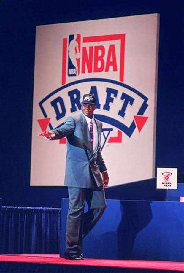 "This June 25, 1992 file photo shows Louisiana State University player Shaquille O'Neal waving to the crowd after he was picked first by the Orlando Magic team in NBA Draft at Memorial Coliseum in Portland, Ore.  O'Neal says on Twitter that he's ""about to retire."" O'Neal sent a Tweet shortly before 2:45 p.m. saying, ""im retiring."" It included a link to a 16-second video in which he says, ""We did it; 19 years, baby. Thank you very much. That's why I'm telling you first: I'm about to retire. Love you. Talk to you soon."" (AP Photo/Don Ryan,File) Photo: Associated Press"