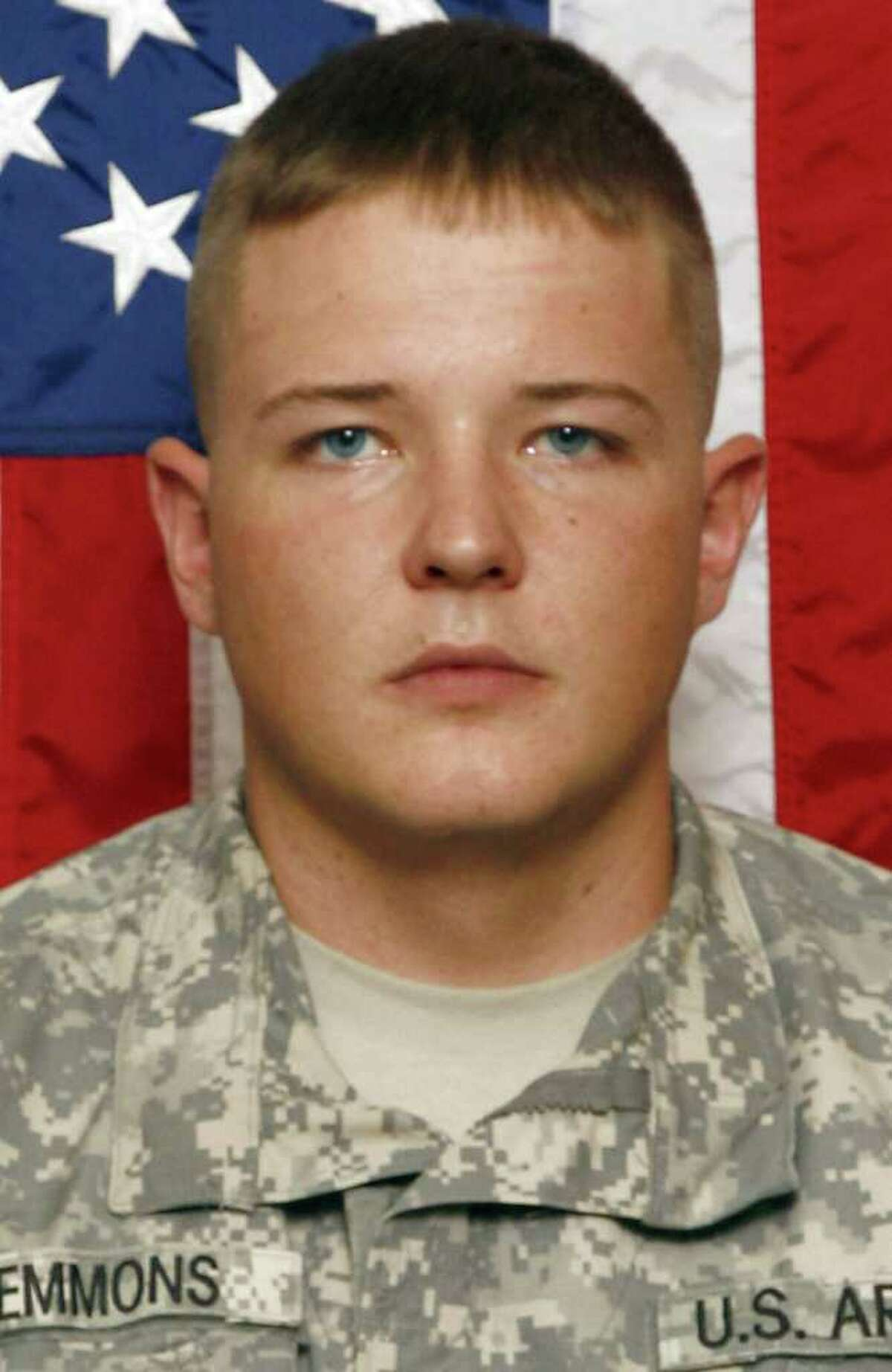 This Sept. 2010 photo released by the U.S. Army shows Spc. Richard Emmons III, 22, of North Granby, Conn., who died Tuesday, May 31, 2011, after a rocket-propelled grenade hit his vehicle in Logar Province, Afghanistan. (AP Photo/U.S. Army)