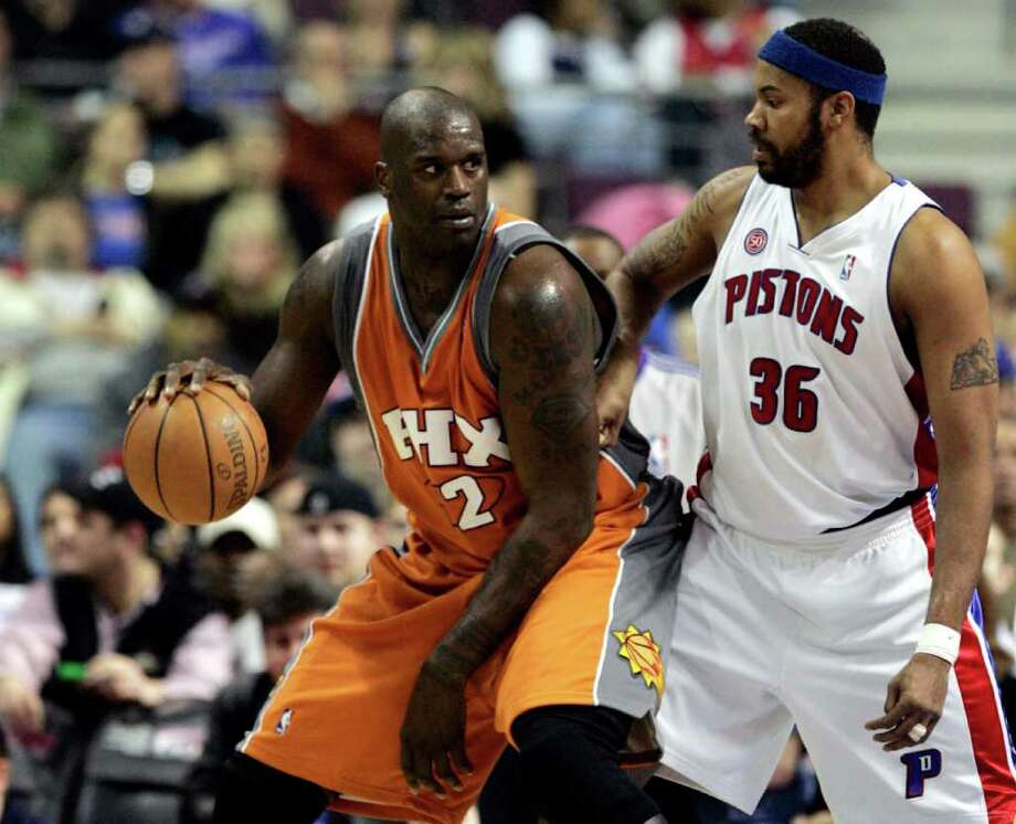 Phoenix Suns center Shaquille O'Neal Photo: REBECCA COOK, REUTERS / X00064