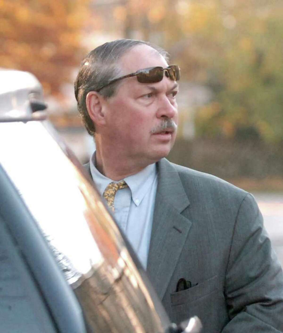 Obstetrician and gynecologist Dr. Ben Ramaley outside his practice at 2600 Post Road in Southport, in this Nov. 9, 2009, file photo.