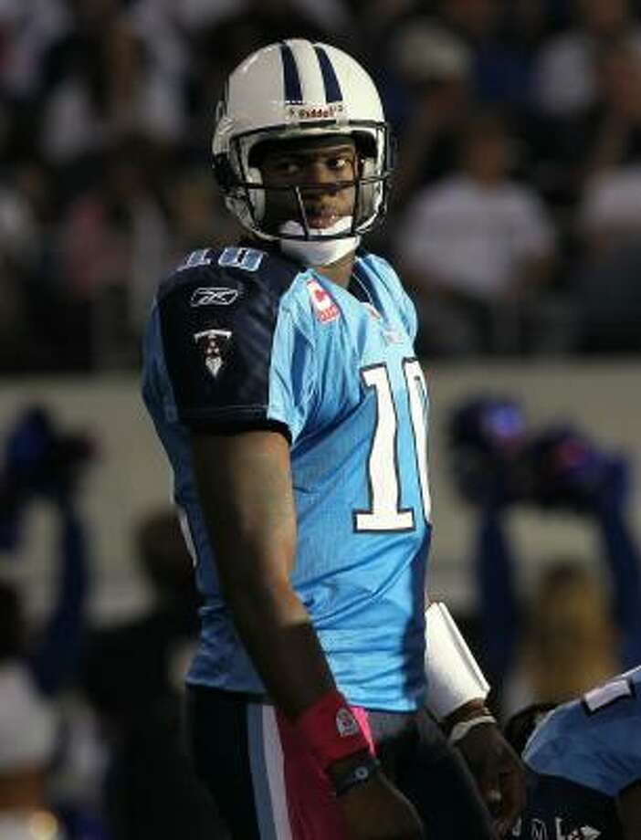 Vince: Hurricane Vince has nothing on Houston native and Tennessee Titans Quarterback Vince Young.